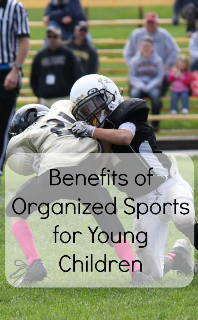 Benefits of Organized Sports for Young Children