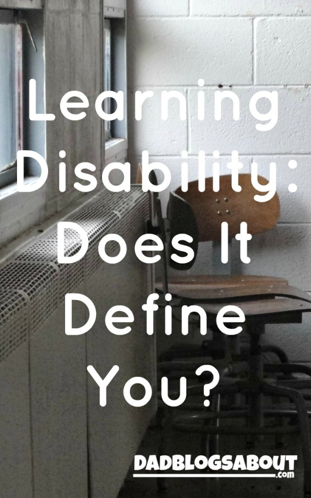 Learning Disability: Does It Define You?