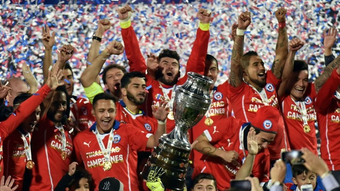 Copa América Chile 2015, more at DadBlogsAbout.com