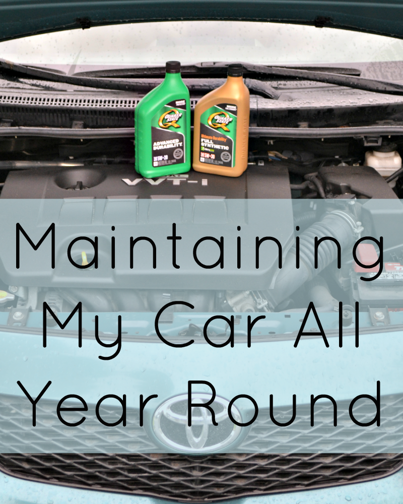 Maintaining An Ethical Capsule Wardrobe: Maintaining My Car All Year Round
