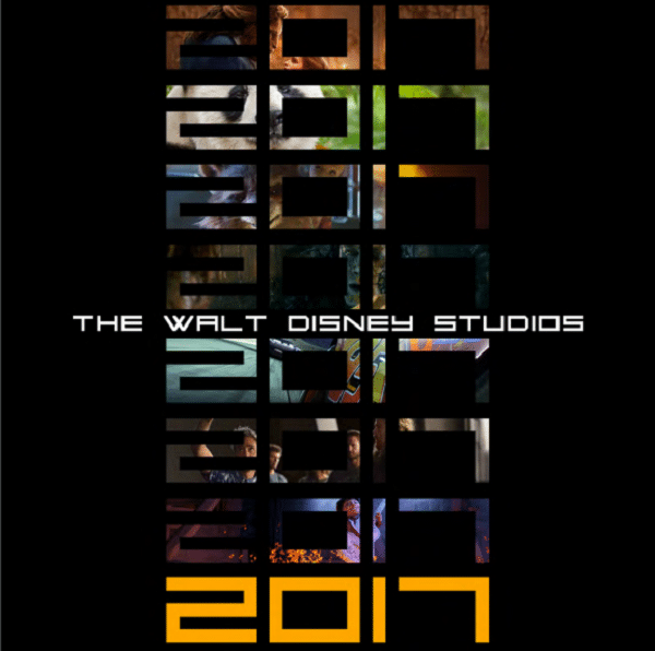 2017 Walt Disney Studios Motion Pictures Slate. More at DadBlogsAbout.com