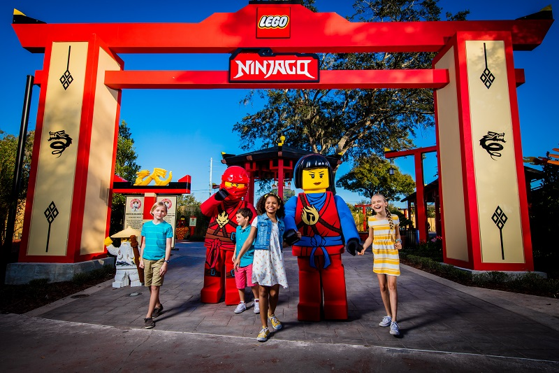 LEGO® NINJAGO® World Now Open at at LEGOLAND® Florida