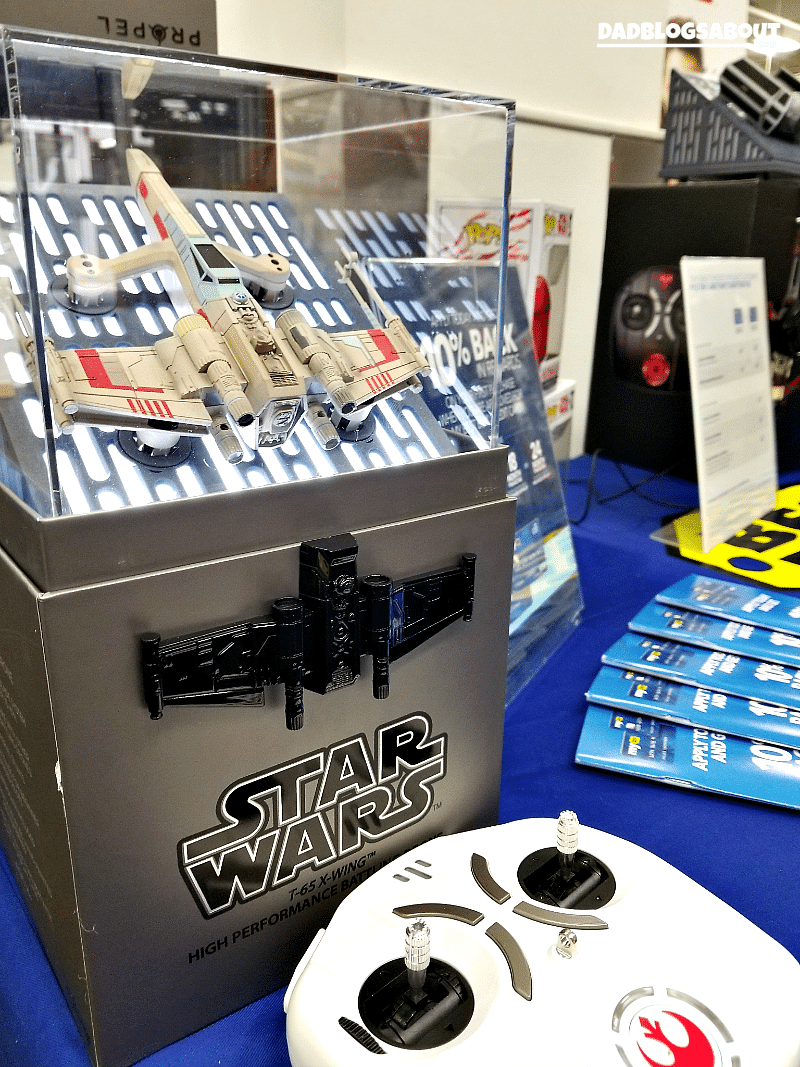 Star Wars Force Friday is back. Check out our recent visit to our local Best Buy store below and be sure to stop by yours to see new and exclusive Star Wars products and merchandise available now. More at DadBlogsAbout.com
