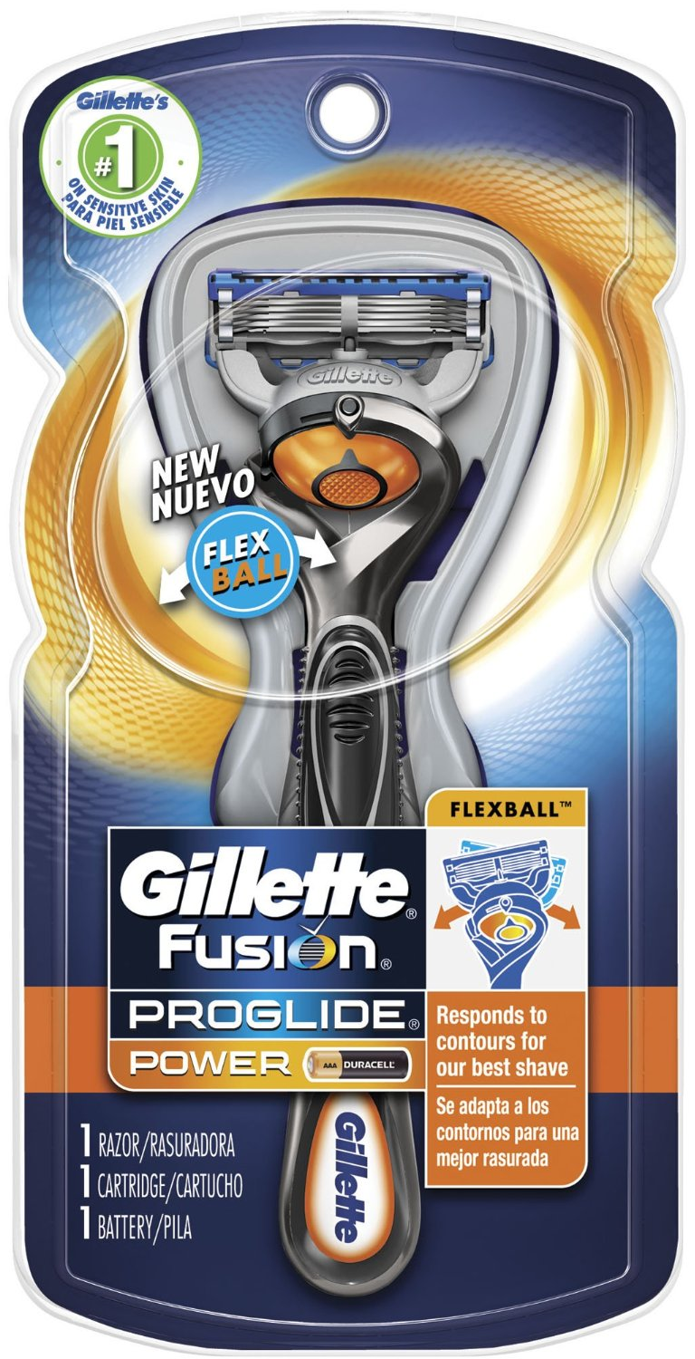 Gillette Fusion Proglide Power Men S Razor With Flexball