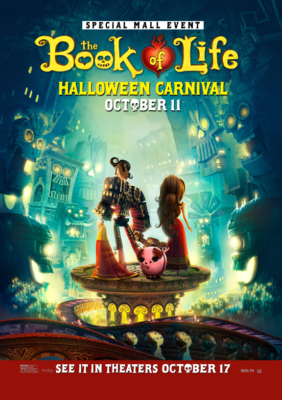 The Book of Life Halloween Carnival at Dolphin Mall in Miami Florida
