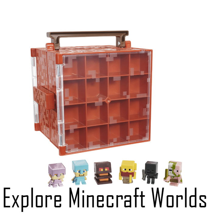 Explore Minecraft Worlds