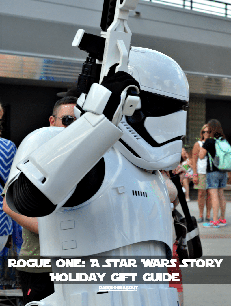 Get your Holiday shopping done with our Rogue One: A Star Wars Story - Holiday Gift Guide. More at DadBlogsAbout.com