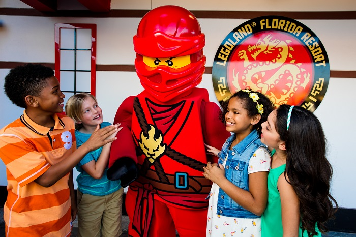 LEGO® NINJAGO® World Now Open at at LEGOLAND® Florida. Learn more at DadBlogsAbout.com