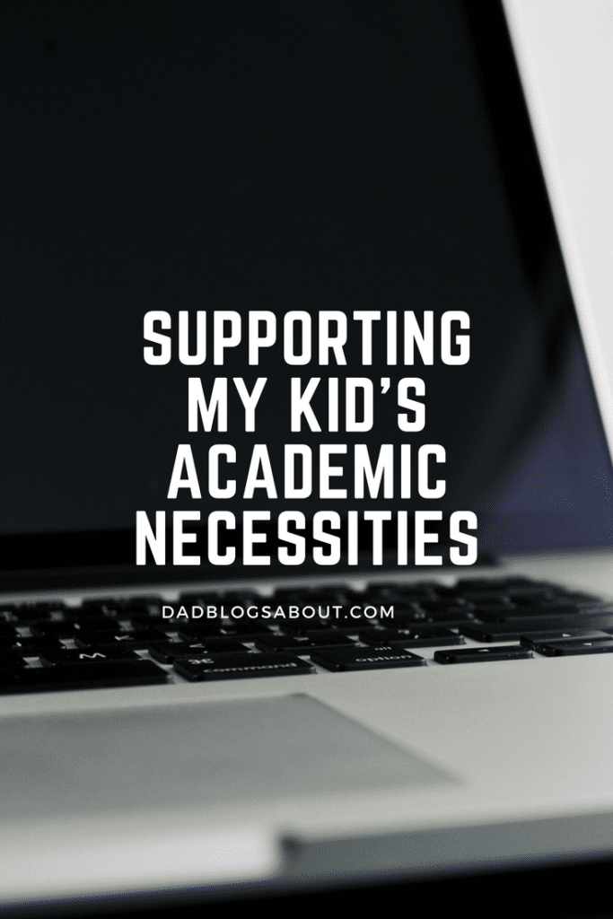 Supporting My Kid's Academic Necessities