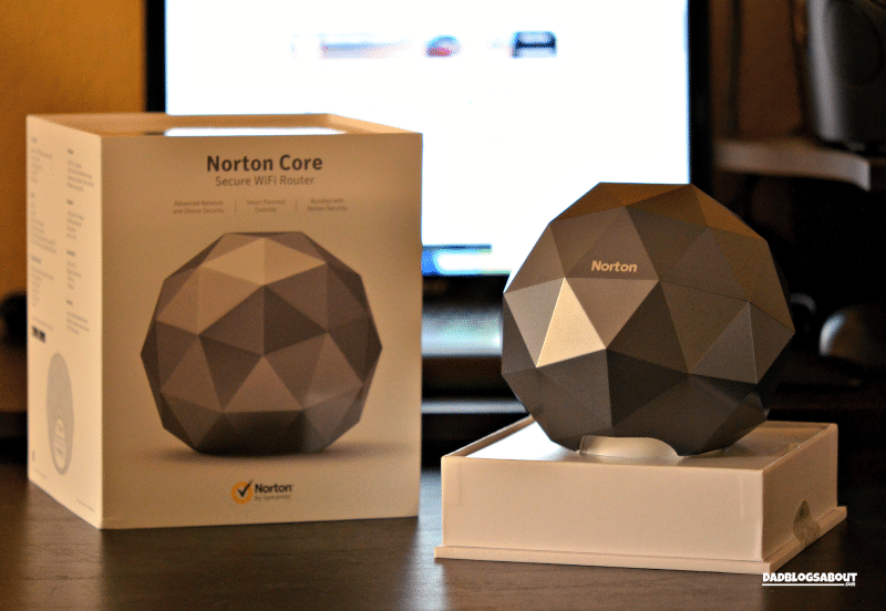 Protect your Smart Home with the Norton Core Secure Wi-Fi Router. More at DadBlogsAbout.com
