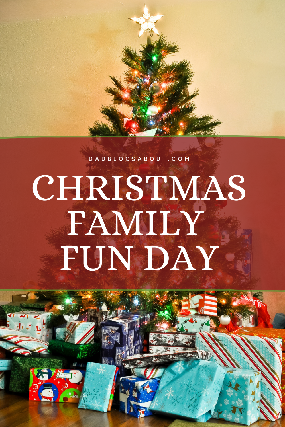 Christmas is a time for the whole family to come together and have some fun. What better way than to play some games? Following are four games that are sure to invoke smiles and laughter from everyone. More at DadBlogsAbout.com